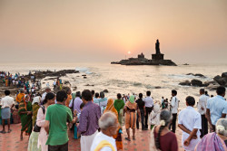 Kanyakumari-Beach-at-sunrise