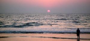 ganpatipule-sun set
