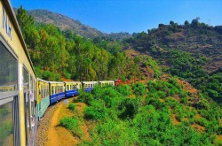 Shimla-kalka-toy train express