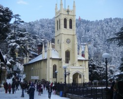 Shimla kufri church