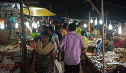 puri beach market